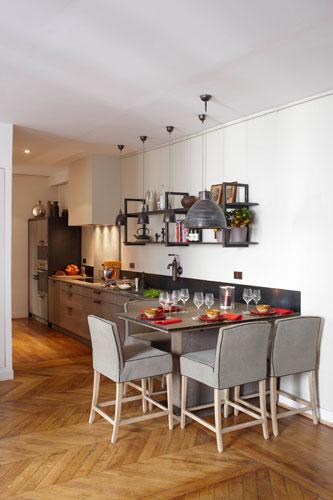 Gain de place une cuisine xavie 39 z dans l 39 entr e inspiration cuisine - Cuisine a et z ...