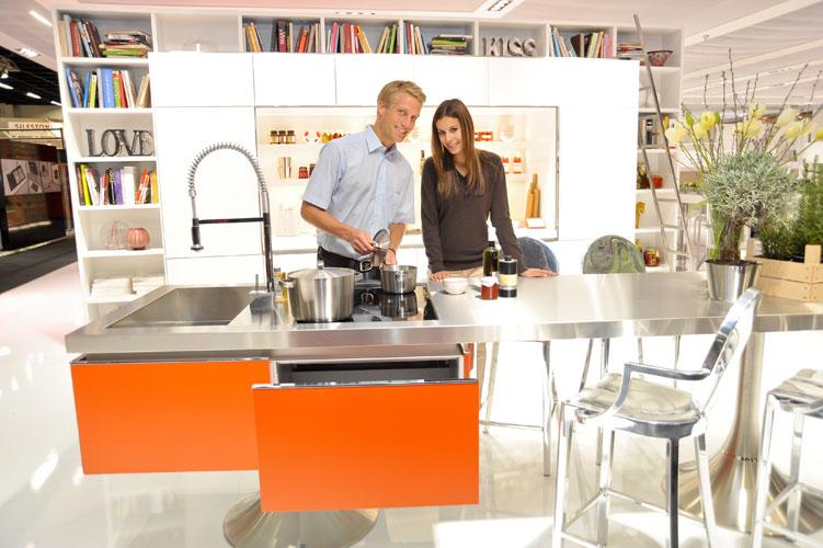 Salon international Living Kitchen à Cologne, en Allemagne-salon de la cuisine