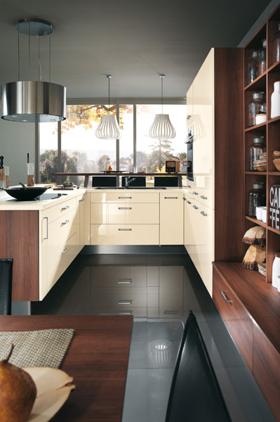 cuisine couloir-cuisine design