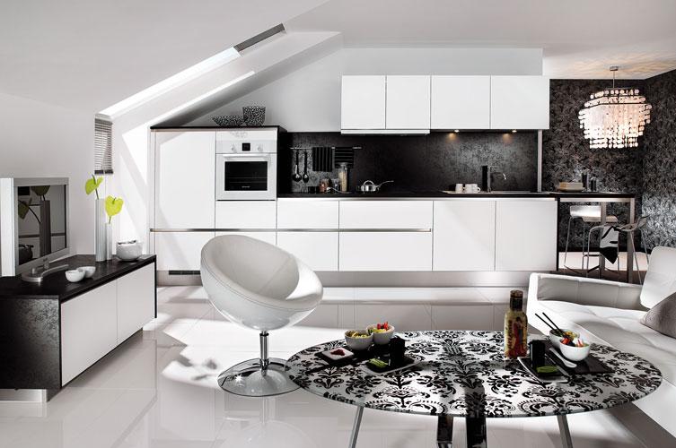 cuisine blanche-cuisine haut de gamme