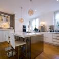 Une cuisine ouverte pour intérieur design