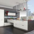 Une cuisine au design géométrique