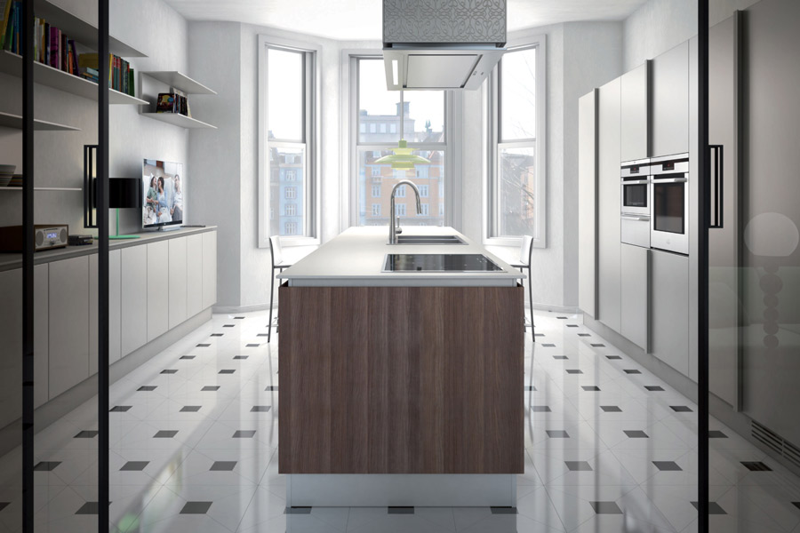 Emetrica d'Ernesto Meda-cuisine design
