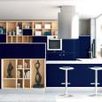 La cuisine bleue