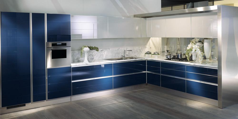 Cuisine bleue : Scavolini