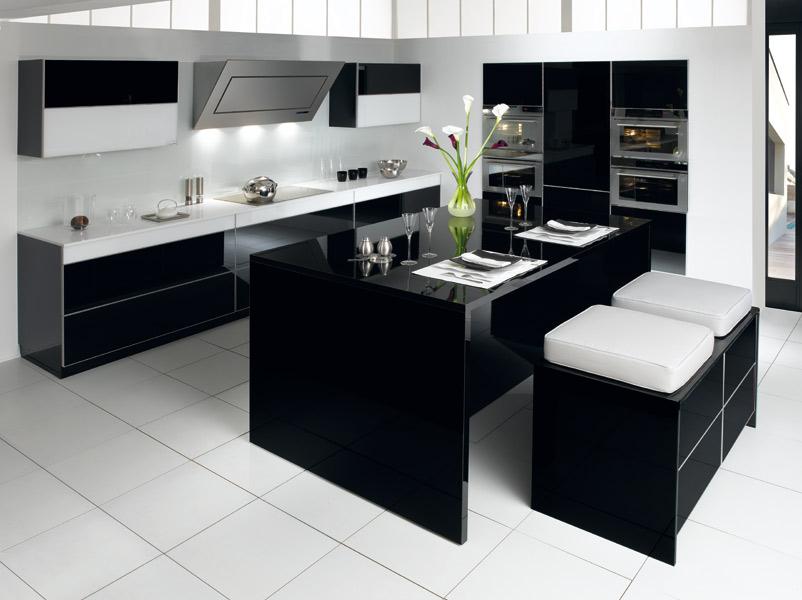 cuisine quipe avec ilot latest cuisine sur mesure prix with cuisine quipe avec ilot gallery of. Black Bedroom Furniture Sets. Home Design Ideas