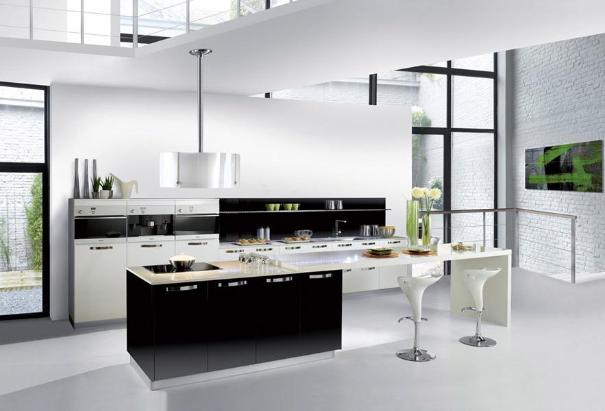 La cuisine noire : Pyram