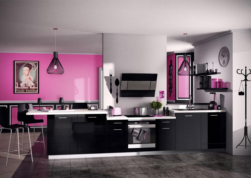 La cuisine noire : Socco'c