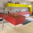 La cuisine modulaire haute en couleur de Lago