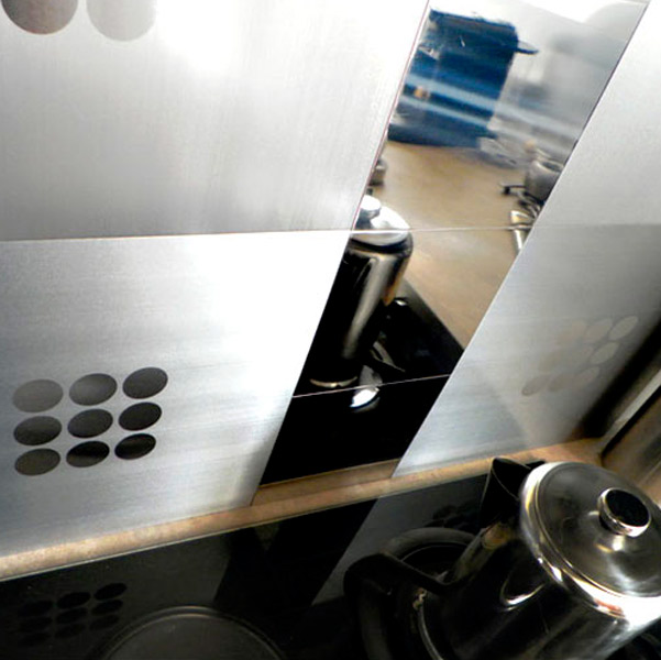 Décors métalliques adhésifs Metal Decor