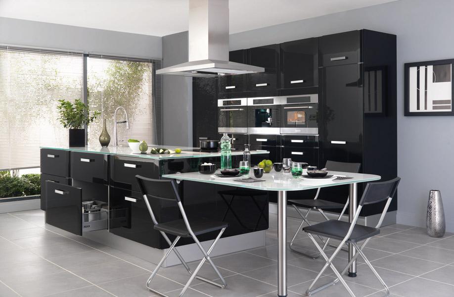 La cuisine noire : Lapeyre