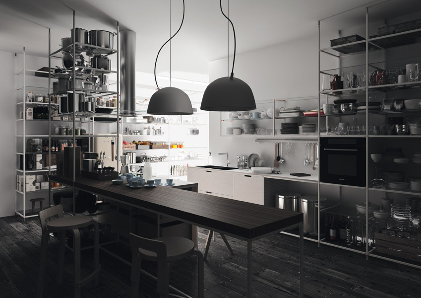 Meccanica, la cuisine écologique de Valcucine