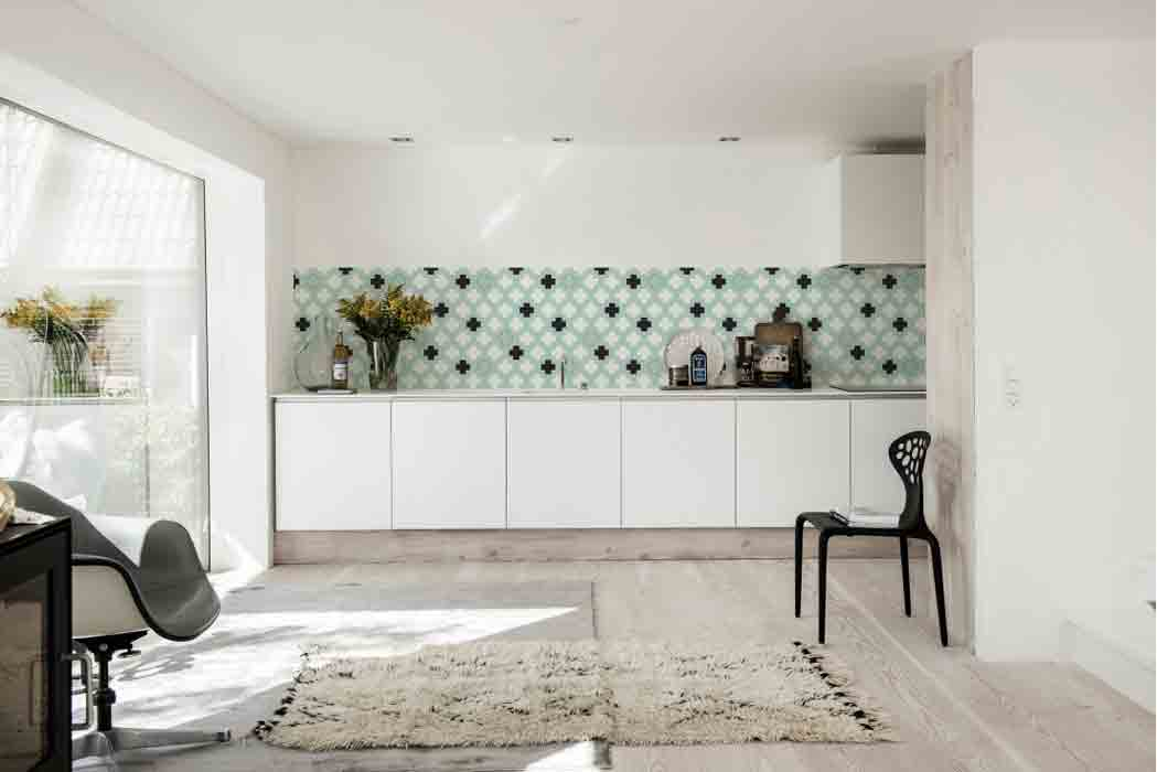 wallpaper in kitchen ideas dix id 233 es de cr 233 dence inspiration cuisine 22645