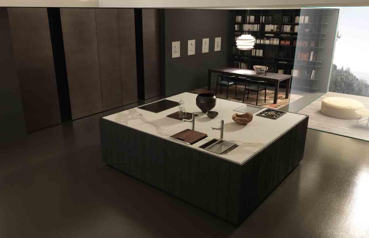 Table Centrale De Cuisine cuisines avec îlot central | inspiration cuisine