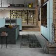 La cuisine Quadro d'Aran cucine à la sauce industrielle